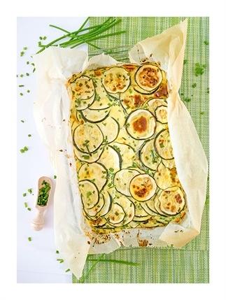Ovenschotel met courgettes - Vegetarisch -
