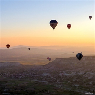 Reisdroom: ballonvaart in Cappadocië, Turkije