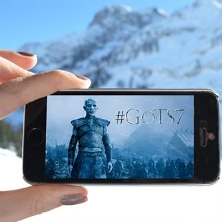 Winter is here in seizoen 7 van Game of Thrones