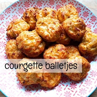 Courgette balletjes