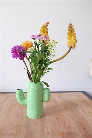 De bloemenvaas, ideale woonaccessoires!