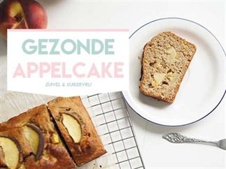 Gezonde appelcake