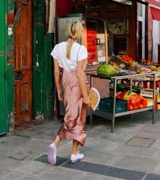 How to wear: a slip dress