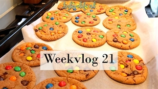 Lizlovelife weekvlog 21 | M&M cookies en ontsnapt