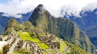 Machu Picchu in Peru in een 360 graden video