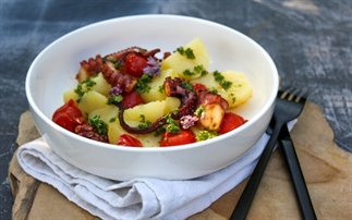 Octopus salade