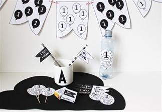 Printbare versiering voor een kinderfeestje