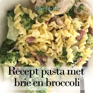 Recept pasta met brie en broccoli