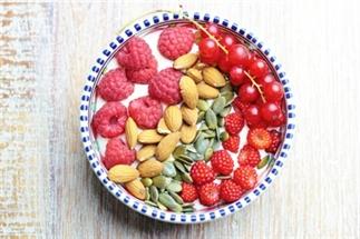 Rood fruit ontbijt - koolhydraatarm