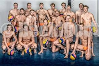 Sexy foto onze waterpolo mannen zorgen voor hype!