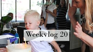 Weekvlog 20   Niel is 3 jaar geworden!   Lizloveli
