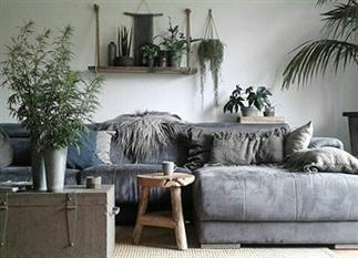 Binnenkijken in een botanisch interieur