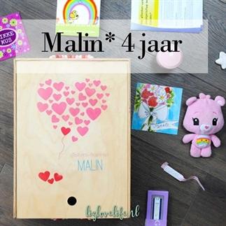 Malin* 4 jaar