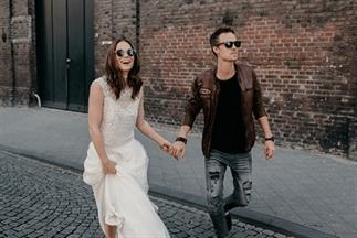 Prachtige trouw-inspiratie voor een moderne bruid!