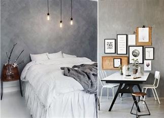 Trend: Geef je muur een betonlook