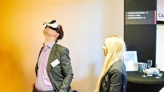 VR gebruiken op beurzen en evenementen