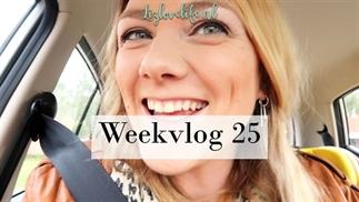 Weekvlog 25 | De pretecho en een workshop Brushlet