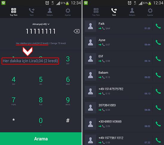 3 callscreen 20152101125548355 Cep telefonları ve sabit hatları aramanın en uygun fiyatlı yolu