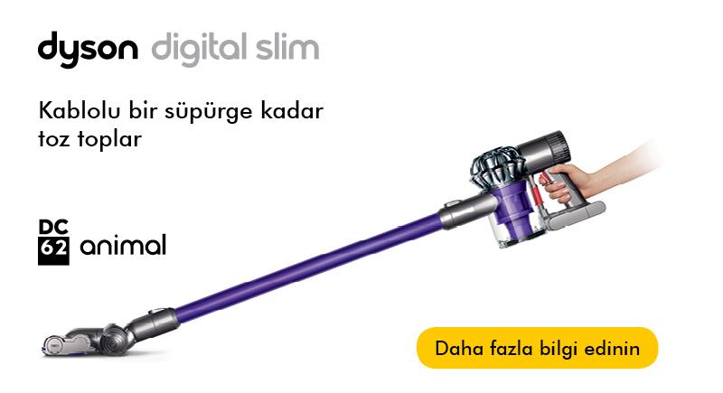 800x435 dyson s 20141610020937767 Dyson DC62 Digital Slim ile Kablosuz Kolay Temizlik