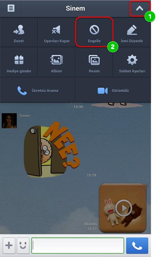 line kisi engel 20141403023749106 AKILLI TELEFONUNUZDA GÜVENLİ MESAJLAŞIN