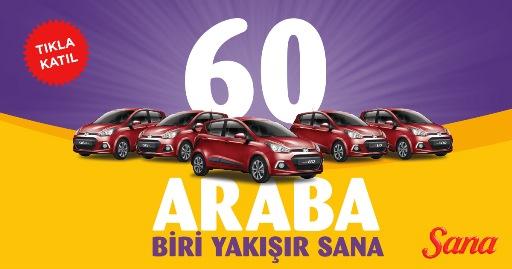 60 Hyundai i10'dan #BiriYakışırSANA!