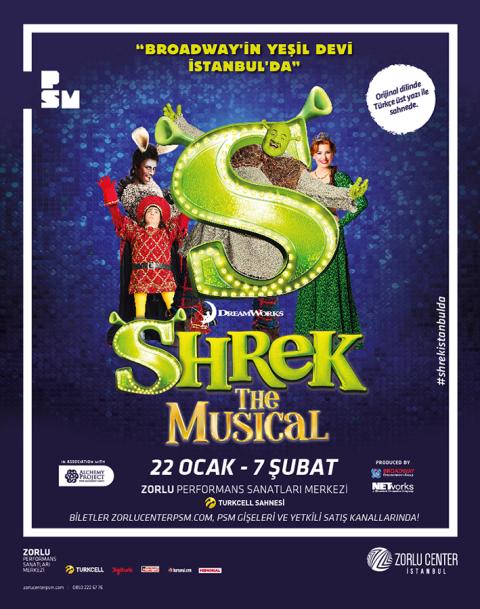 Broadway'in Yeşil Devi İstanbul'da