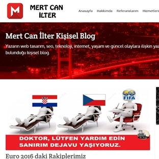 Mert Can İlter Blog