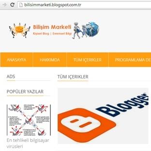 Bilişim Marketi - Blog