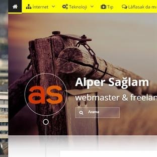 Alper Sağlam Blog Sitesi