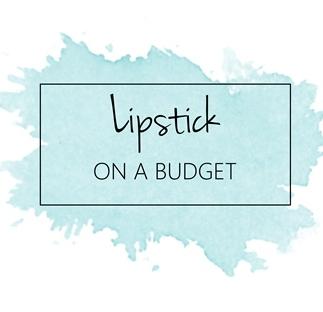 Lipstick on a budget