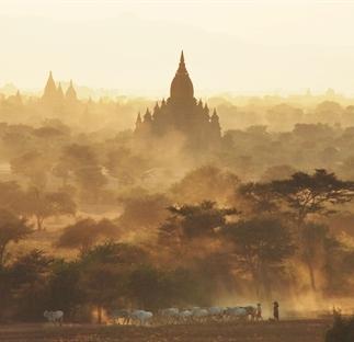 Traveling through Myanmar
